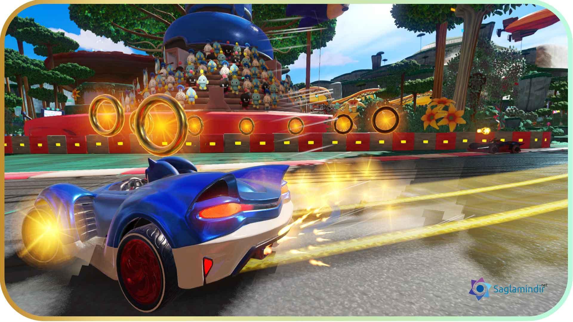 Team Sonic Racing torrent indir