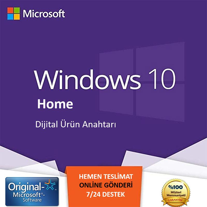 windows 10 home satın al