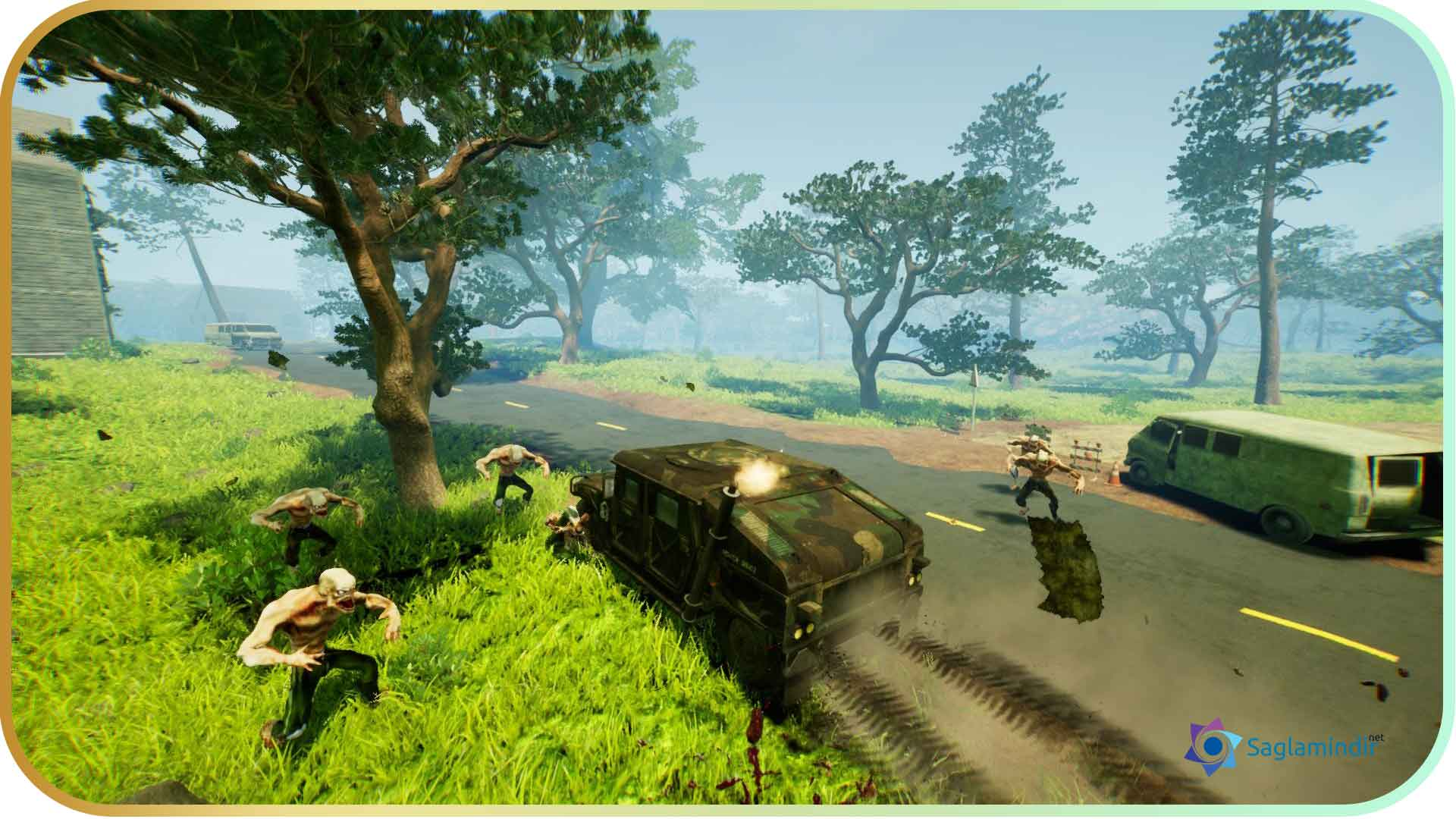 Zombie Road Rider full indir