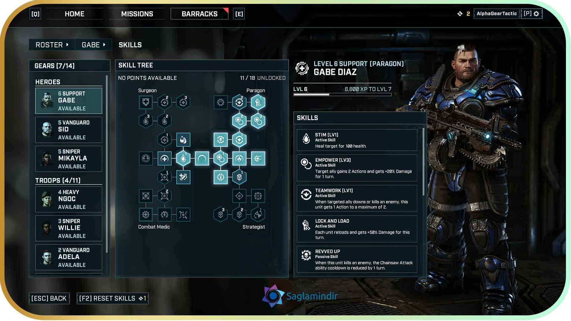 Gears Tactics torrent indir