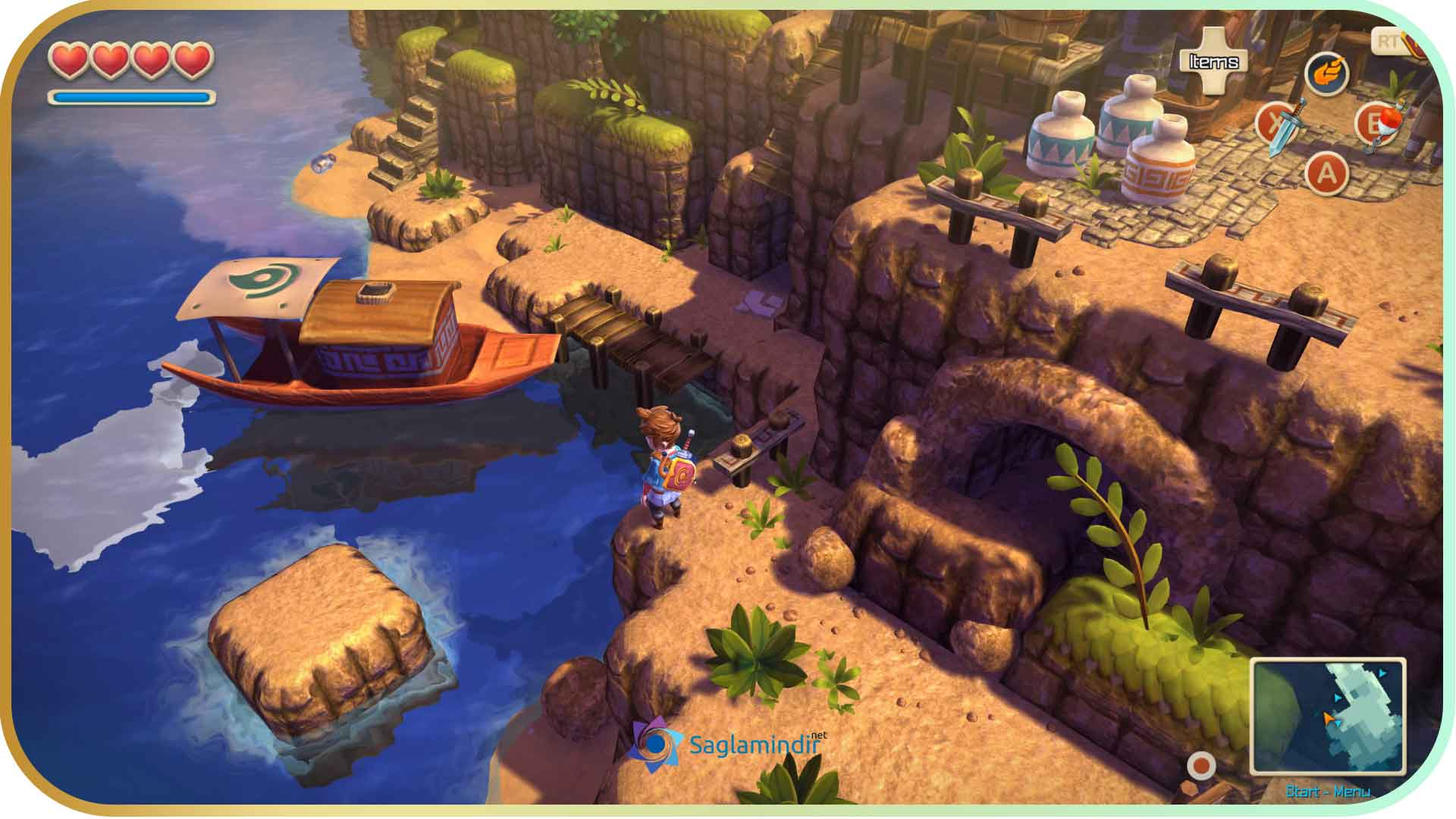 Oceanhorn Monster of Uncharted Seas saglamindir