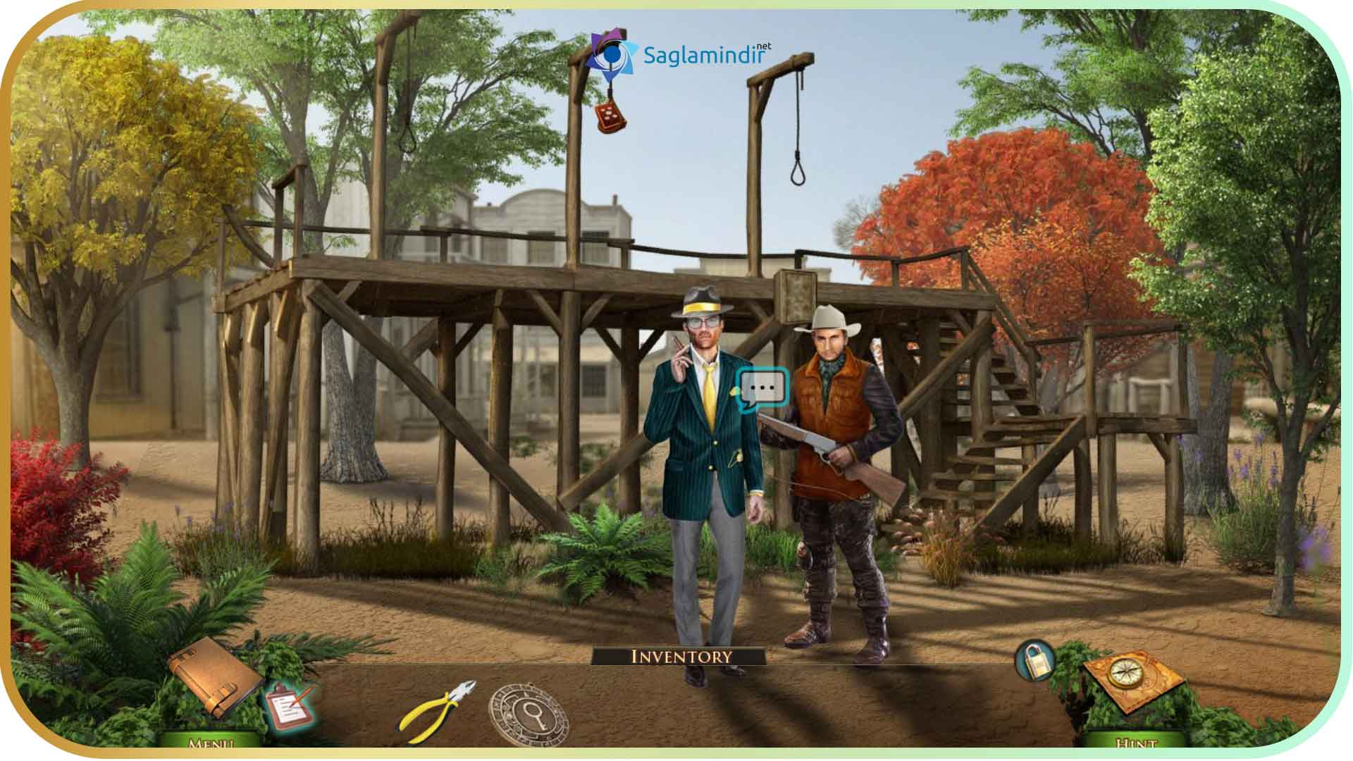 Outlaws Corwin's Treasure saglamindir