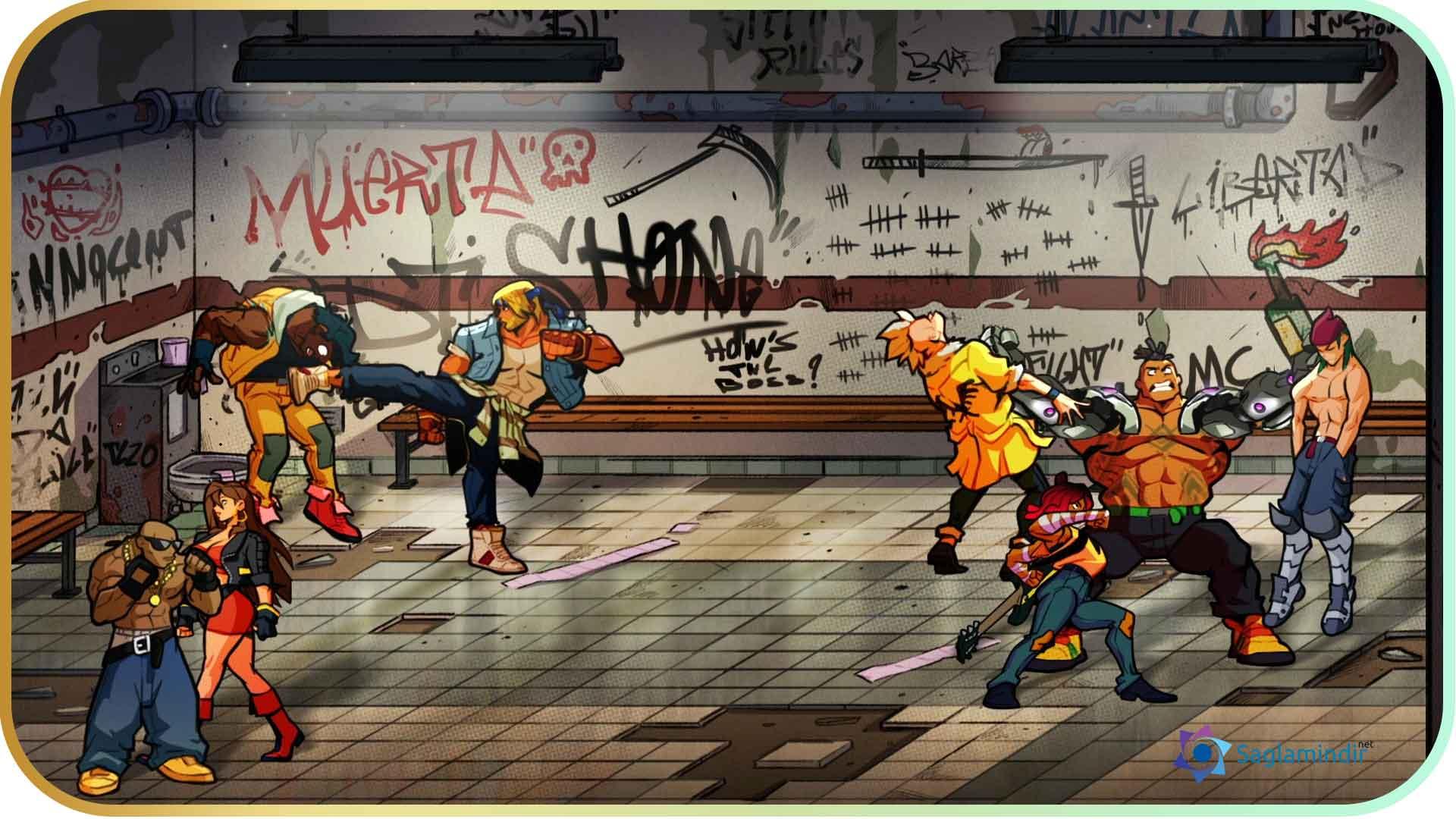 Streets of Rage 4 saglamindir