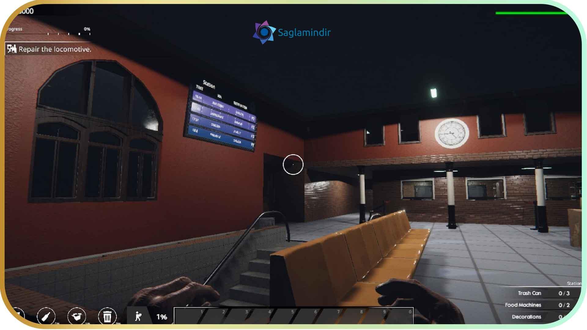Train Station Renovation torrent indir